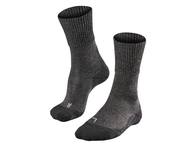Falke TK1 Wool Strømper Herrer grå
